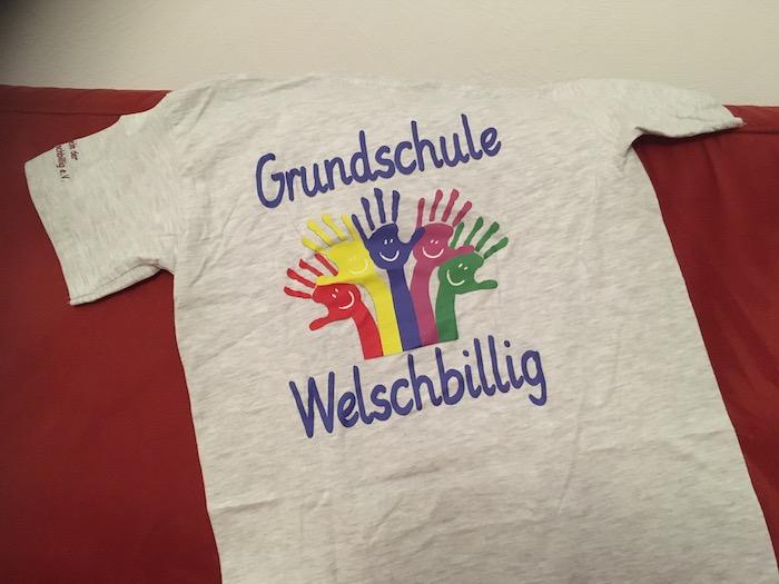 Schul-T-Shirt der Grundschule Welschbillig
