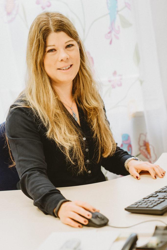 Frau Steffen, Schulleiterin der Grundschule Welschbillig